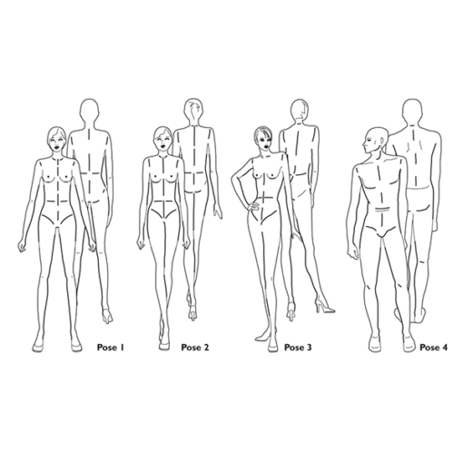 Fashion Figure Templates 1