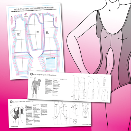The Essential Guide to Stretch Pattern Cutting 1