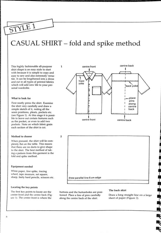 Pattern Cutting from Made Up Garments sample page