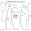 SFM Menswear Basic Jacket Block