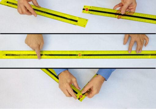 Shoben Folding Metre Stick 1